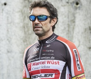 Marcel Wüst mit seiner Pro Action von Bigwave