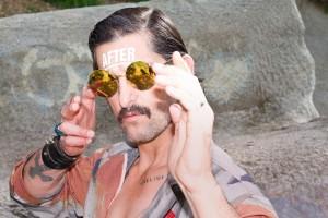 """Mykita und Designer Bernhard Williams Neuzugang: Rockstar-Brille """"Veruschka"""""""