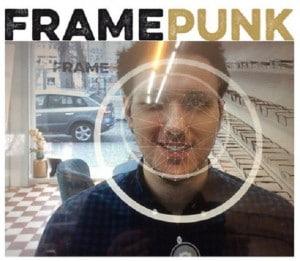 Beriner Optik FRAME PUNK nutzt eine Face-Tracking-App, um Gesichter digital zu vermessen