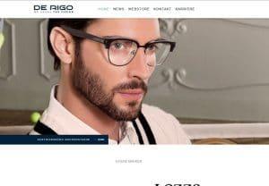 De Rigo Vision mit neuer deutscher Internetseite