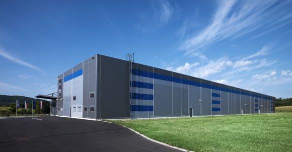 Logistikzentrum in Tschechien
