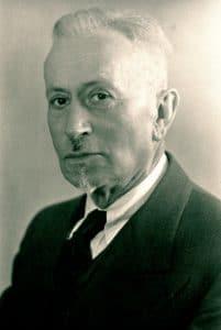 Ernst Jakob Christoffel wurde vor 140 Jahren geboren (©CBM)