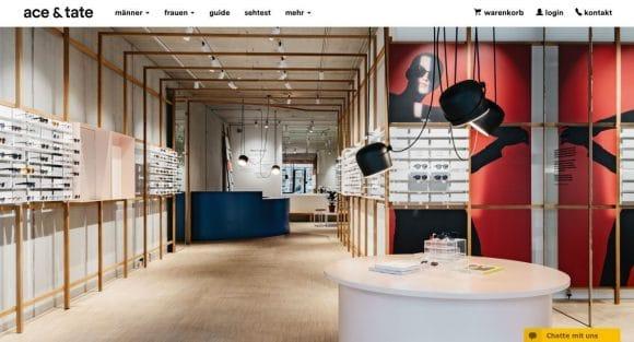 ace tate store in m nchen er ffnet eyebizz. Black Bedroom Furniture Sets. Home Design Ideas