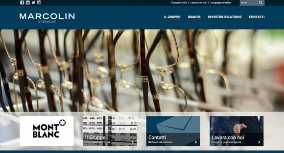 Marcolin-Webseite_Italia_Screenshot