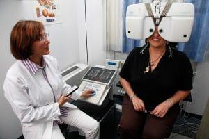 BVA: Augenuntersuchung