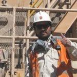 Arbeiter auf dem Bau