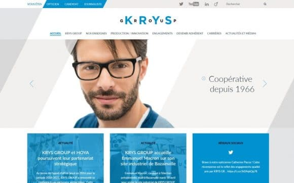 krys group-website