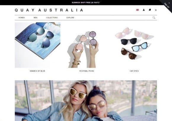 quay australia-website
