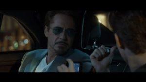 Silhouette_Trailer Spiderman_Robert Downey