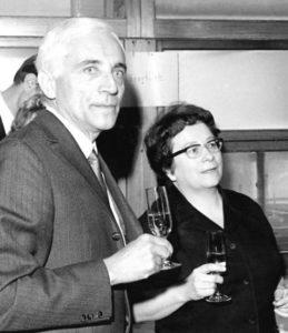 eyebizz_70 Frauen Marga Faulstich und Walter Geffcken_1969