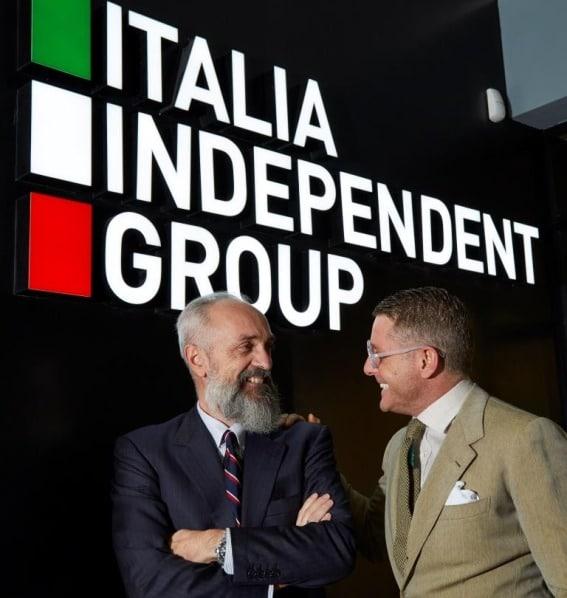 Italia Independent: Giovanni Carlino und Lapo Elkann