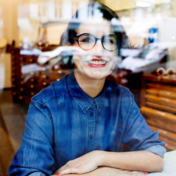eyebizz 70 Frauen: Uta Geyer - Vintage-Brillen