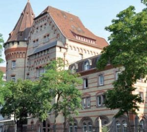 IfB in Karlsruhe: das Schulgebäude