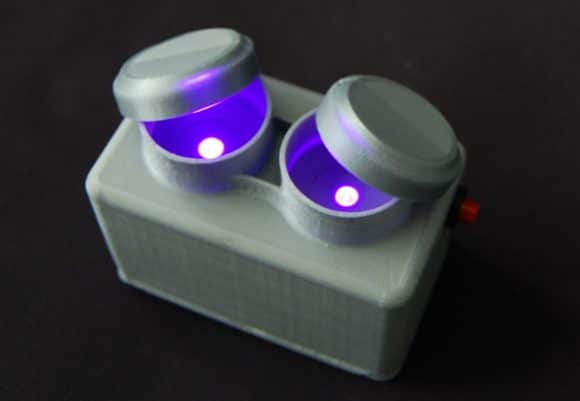 eyebizz: Kontaktlinsen-Desinfektion - Abb. 5 Prototyp