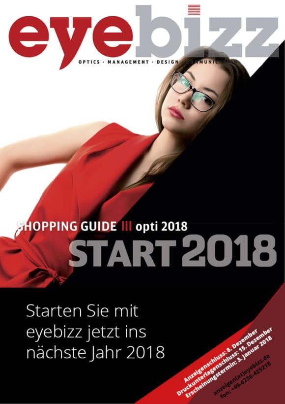 Starten Sie mit eyebizz in ein gutes Jahr 2018