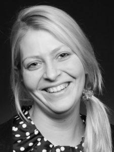 Charmant: Gebietsleiterin Lisa Schröder