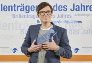 KGS: Brillenträger des Jahres 2017 Ralph Caspers bei der Preisverleihung