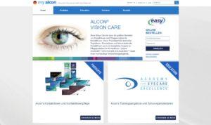 Alcon: die neue Webseite MyAlcon