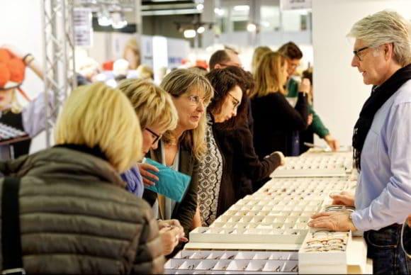 Besucherandrang auf der Brille & Co Januar 2018