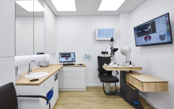 eyebizz: Viehoff Kontaktlinsen-Institut - innen