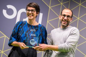 opti: der Blogger Spectacle Award ging an Nina Mur