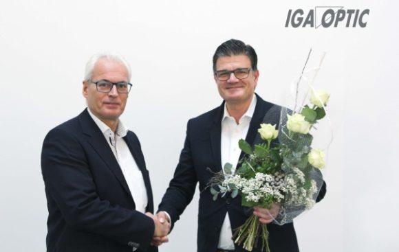 IGA Optic: 20 Jahre Carsten Schünemann