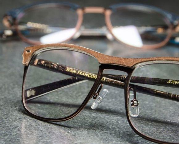 JFRey: die Brillen von Jean-Francois Rey Le Cuir - hier Modell JF2784