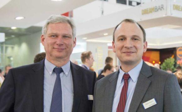 MPG&E-Geschäftsführer Gerhard Eißing und Fabian Hasert
