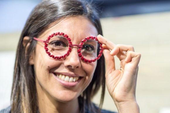 Opti 2018: Gazusa Glasses - Randlos-Brillen mit Lederbandrand
