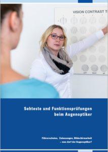 """ZVA-Broschüre """"Sehteste beim AO"""""""