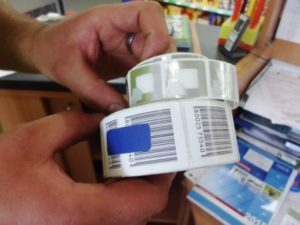 eyebizz: Warensicherung - RF Etiketten