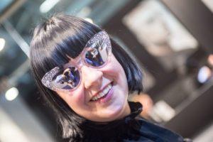 opti 2018: verspiegelte Brillengläser bei Cutler and Gross
