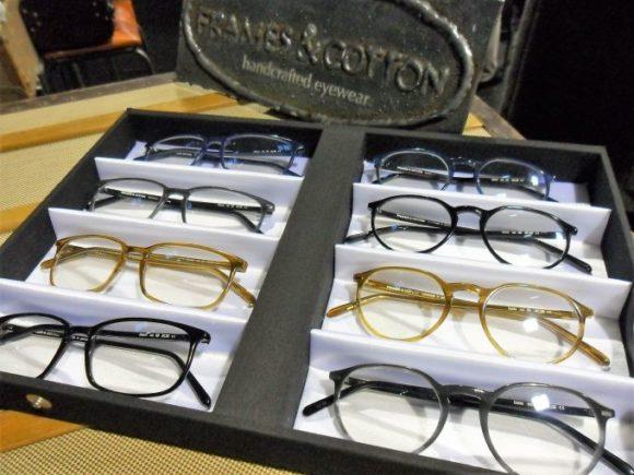 eyebizz auf der opti: Trend dünnrandige Kunststoffbrillen - hier Frames & Cotton