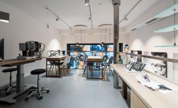 Bellevue Hamburg: Optometrie-Abteilung im ersten Stock