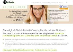 Gleitsichtgläser Angebot bei Brillen.de