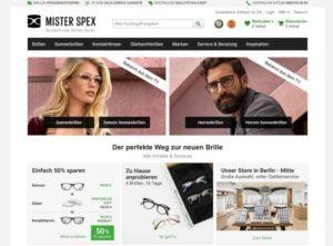 10 Jahre Mister Spex - die Website des Online-Optikers