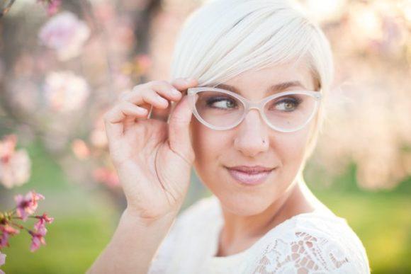 Heiraten mit Brille - worauf man als Braut achten sollte