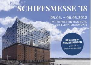 Schiffsmesse vom am 5. und 6. Mai in Hamburg