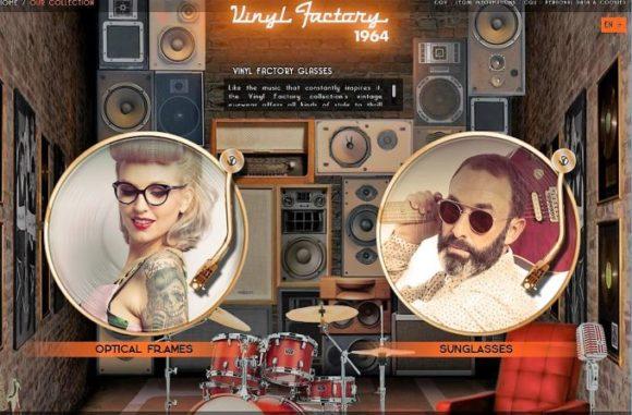 Vinyl Factory - die Website