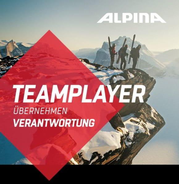 Teamplayer übernehmen Verantwortung