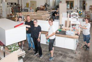 eyebizz - 70 Frauen: Andrea Fritz in der Werkstatt
