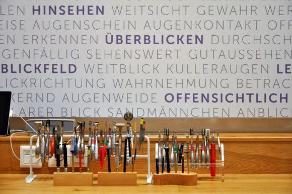 eyebizz: Sehzentrum Kormannshaus - Werkstattbereich