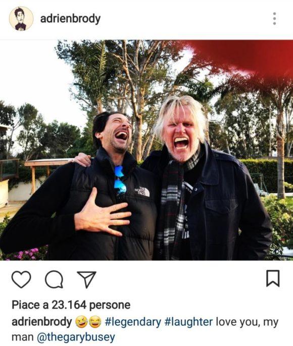 Adrien Brody mit Blackfin-Sonnenbrille
