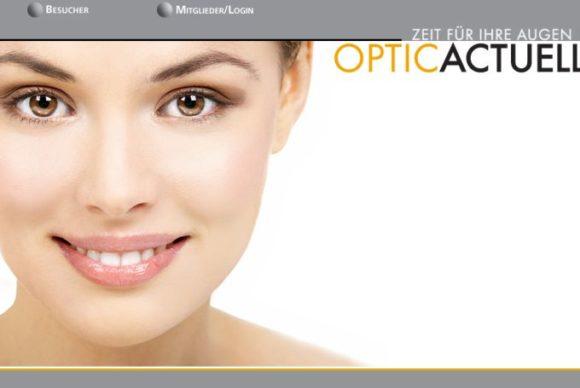 Optic Actuell: Website