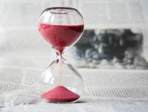 Nicht zu viel Zeit lassen