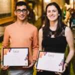 CooperVision: die Gewinner des FORCE 2018 sind Pablo Arlanzon und Laura Valencia