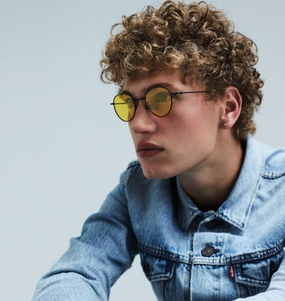 Komono-Sonnenbrille - Hailey-Black-Yellow