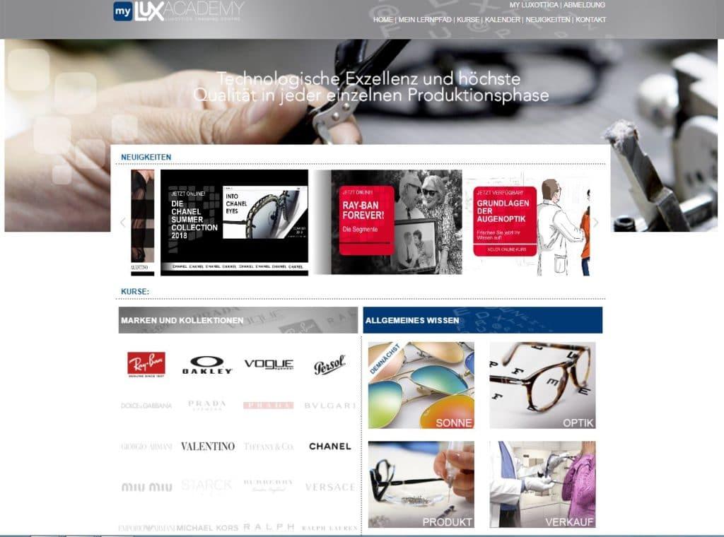 Luxottica führt neue Richtlinien zur Stärkung des Fachhandels ein ...