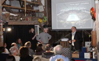 Scheunenfest bei Prof. Bernd Lingelbach - Vortrag