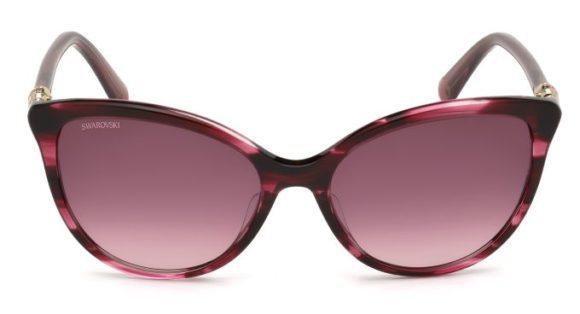 Swarovski: Cat-Eye-Sonnenbrille - Modell SK0147_69T